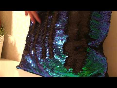 Подушка меняет цвет