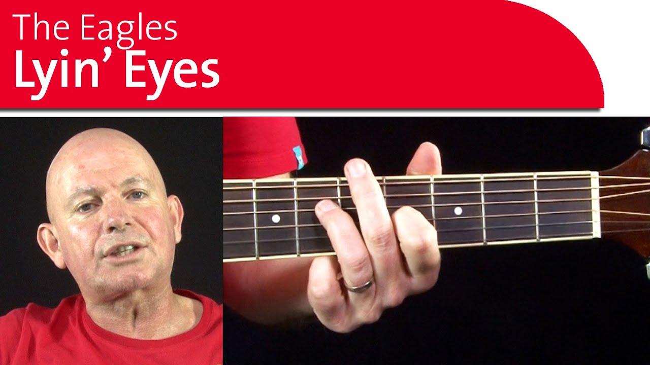 Lyin eyes guitar lesson learn the chords strumming pattern queue hexwebz Choice Image