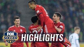 Mönchengladbach Vs. Bayern Munich | 2019 Bundesliga Highlights