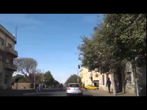 Cruising through the streets of Asmara