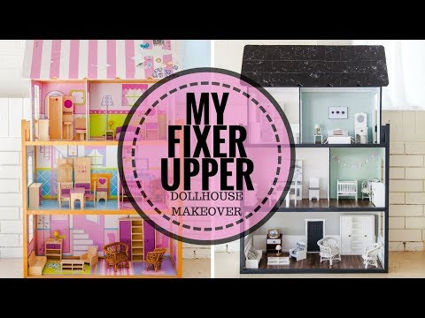 My Fixer Upper Dollhouse Makeover