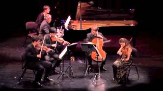 Dover Quartet & Sergio de los Cobos - DVORAK Piano Quintet in A Major, Op. 81, 1st movement