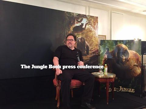 The Jungle Book: press conference with Jon Favreau