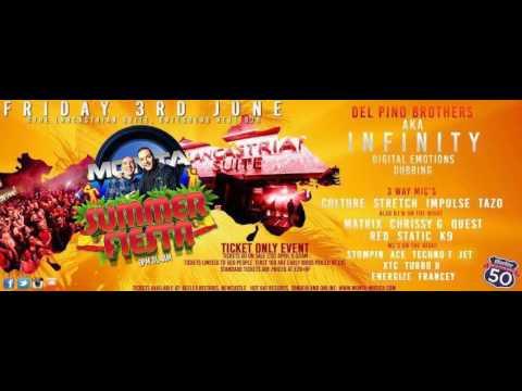DJ Matrix Mc Stompin B2B Mc Techno T @ Monta Musica Summer Fiesta 3.6.2016