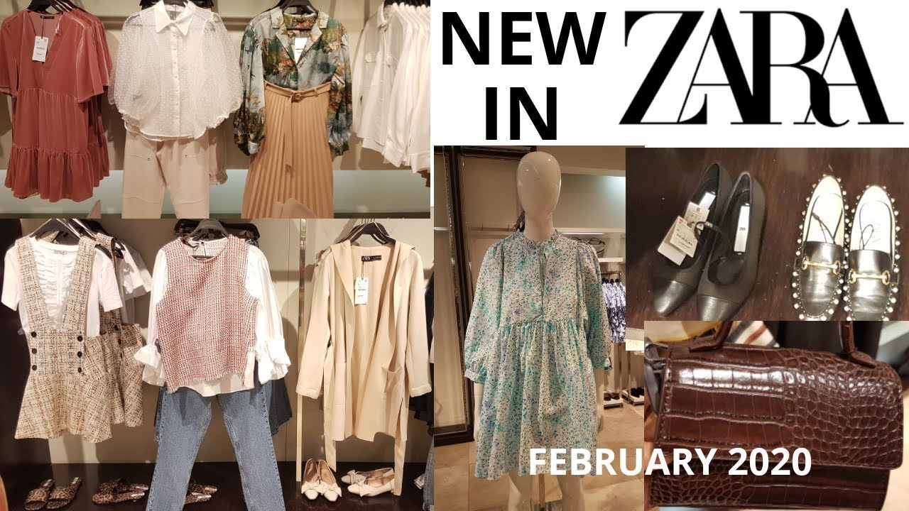 #Zara #Newcollection Zara Women's New Collection February 20