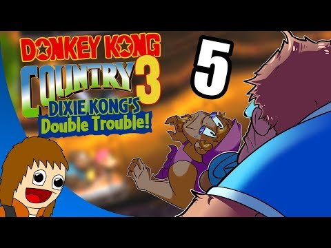 Donkey Kong Country 3: Auto-Scroller City - Part 5