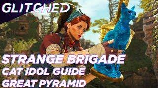 Strange Brigade Cat Idol Locations - Great Pyramid