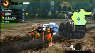 【MH4G】訓練された睡眠ハンマー部隊 vs Lv140キリン【ハンマーの本気】 thumbnail