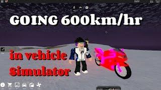 GOING 600 km/hr IN ROBLOX (vehicle sim)