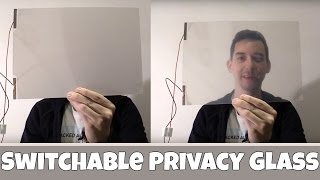 Switchable Privacy Glass / Smart Glass thumbnail