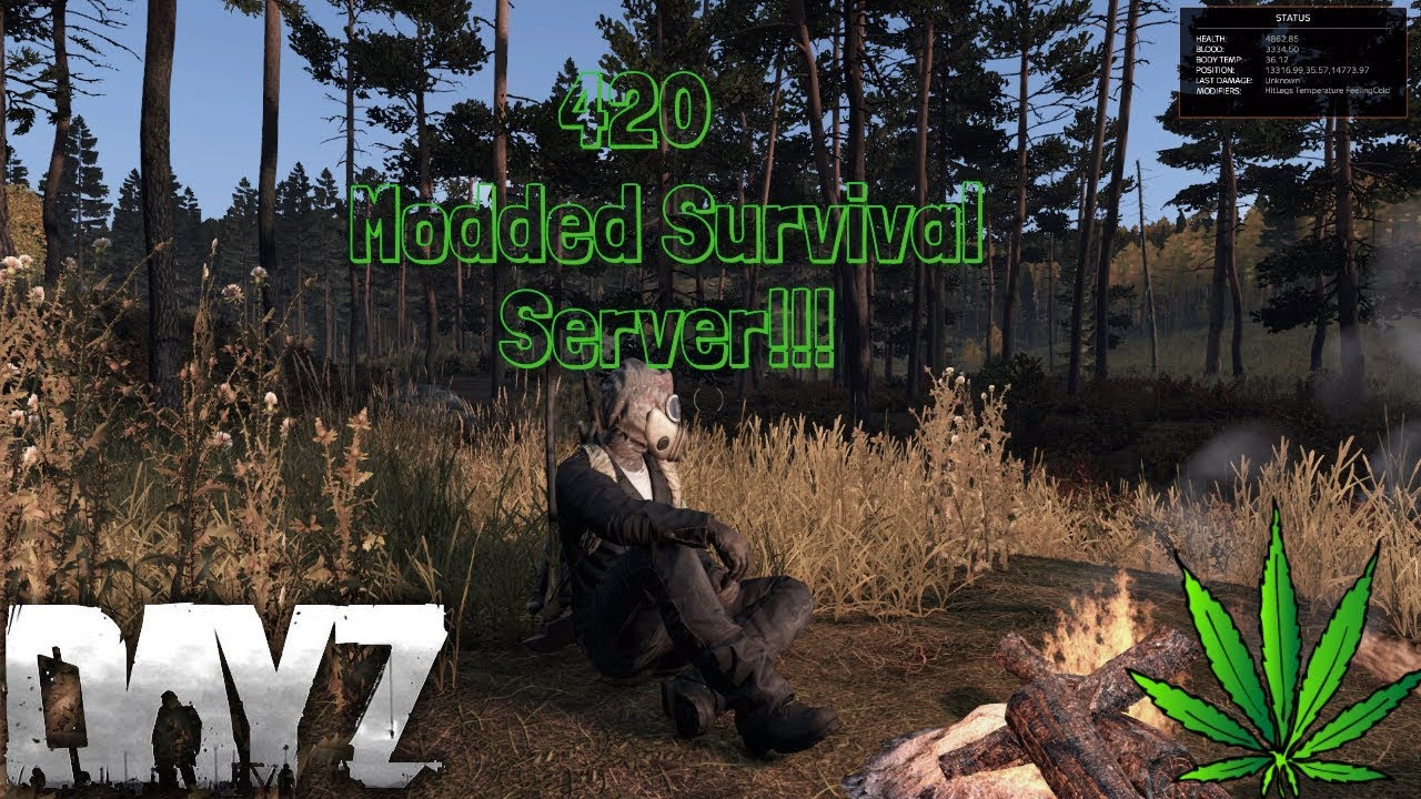 DayZ Standalone: 420 Modded Survival Server! - YouTube