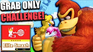 Can DK Win on Elite Smash By Only Using Grab?