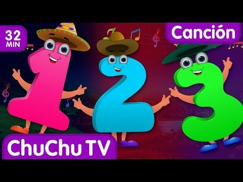 Canción de Números   Canciones infantiles en Español   ChuChu TV