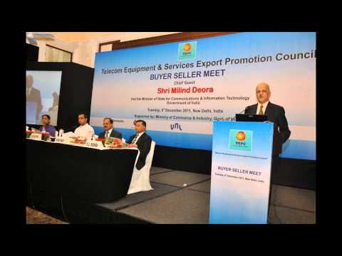 Nk Goyal -CMAI Conducting Telecom Equipments and Services Export Promotion Event