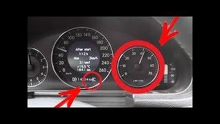 Провалы в оборотах и не плавное переключение до сброса АКПП 722.6 / АКПП поздно переключает передачи