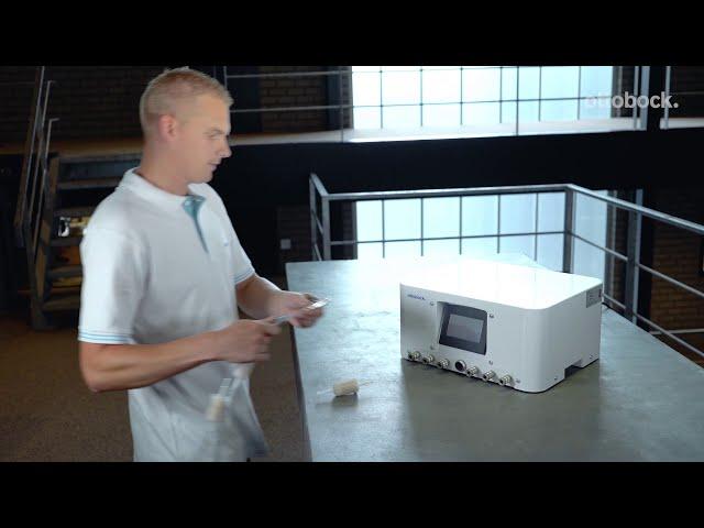 Вакуумный насос Vac M1.5, арт.755E600. Видео для специалистов
