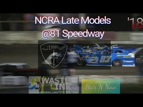 (NCRA) Late Models #28, Full Race, 81 Speedway, 09/15/18