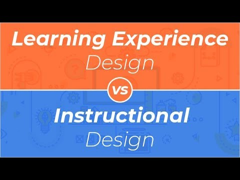 Webinar Learning Experience Design Vs Instructional Design Youtube