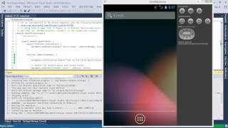 Phonegap Notification using Visual Studio 2013 - Tutorial 2