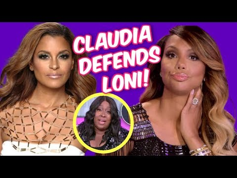 LONI LOVE IN THE HOT SEAT AGAIN FOR SHOWING FAKE LOVE AND CLAUDIA JORDAN DEFENDS LONI OUT OF SPITE!