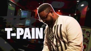 T-Pain mixes a beat with the new GarageBand