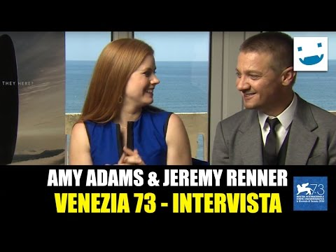 Venezia 73 - Arrival: Amy Adams & Jeremy Renner talk about their favourite aliens