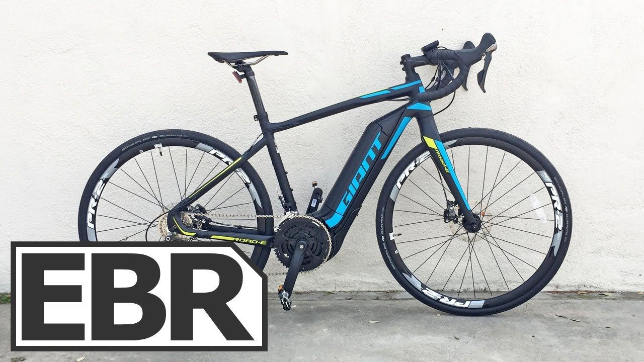 Electric Road Bike >> Giant Road E Video Review 28 Mph Electric Road Bike Youtube