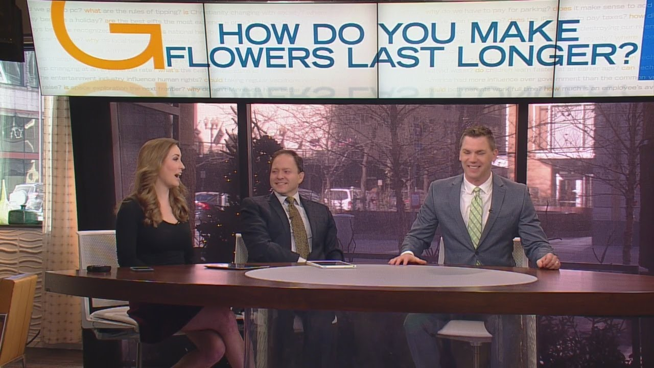 How Do You Make Those Valentine's Day Flowers Last Longer?