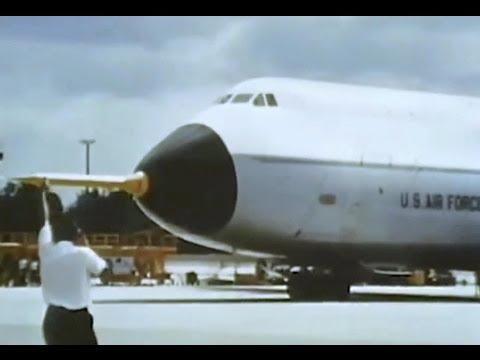 Lockheed C-5A Galaxy Promo Film - 1969