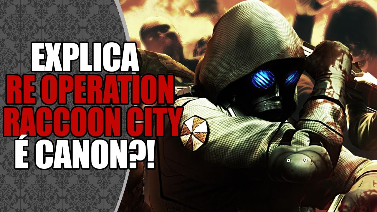 Resident Evil: Operation Raccoon City é CANÔNICO (Canon)? 🤔 | DATABASE EXPLICA