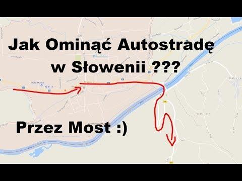 Jak Ominąć Autostradę w Słowenii bez Winiet i Korków ? 2017 przez PTUJ do Chorwacji