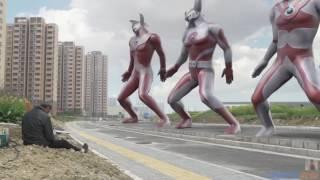 Ultraman Kalo Joget Ternyata Seksi