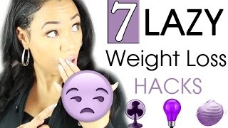 Lazy Weight Loss Hacks for Teenagers that WORK!