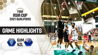 Guam v New Zealand - Highlights - FIBA Asia Cup 2021 - Qualifiers