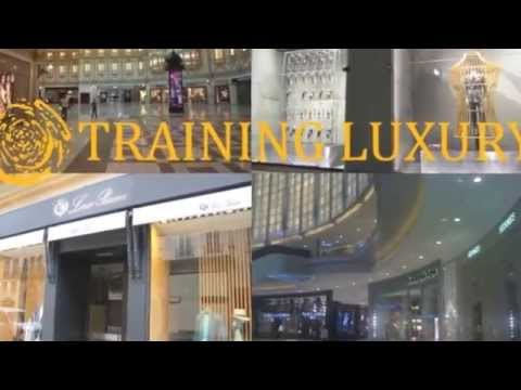 Luxury stores in Middle East