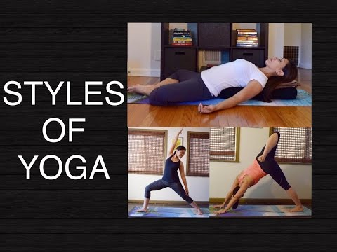 Different Yoga Styles: Hatha Vinyasa Yin Restorative Which One Should You Practice?