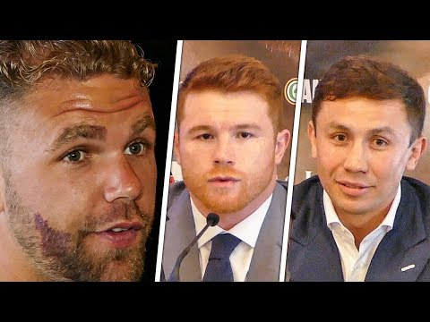Billy Joe Saunders INTERRUPTS GGG vs CANELO Presser With Questions!