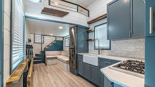 The Most Impressive 36ft Wansley Custom Gooseneck Tiny Home By Movable Roots