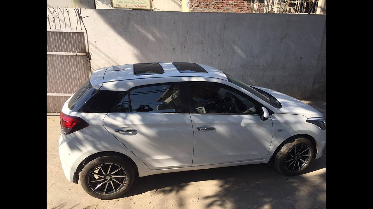 Hyundai Elite I20 Modified Dual Sunroof