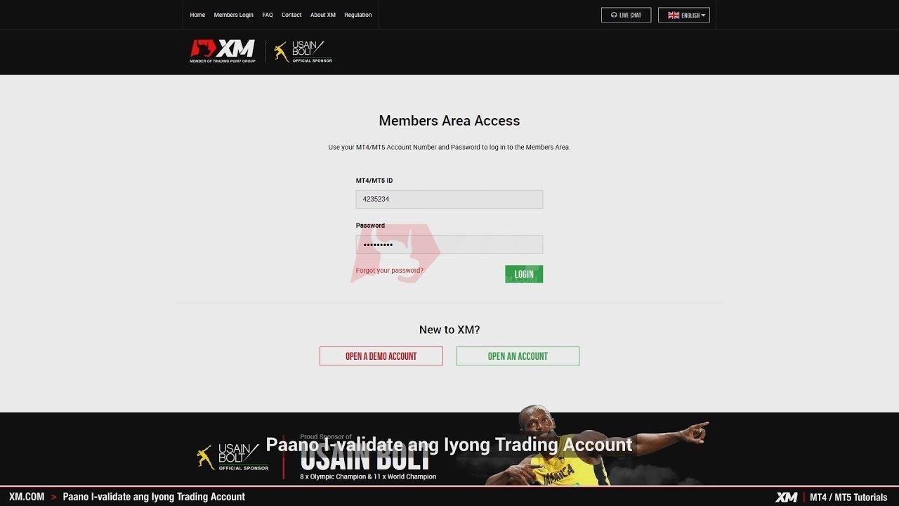 Xm Com Mt4 Mt5 Tutorials Paano I Validate Ang Iyong Trading