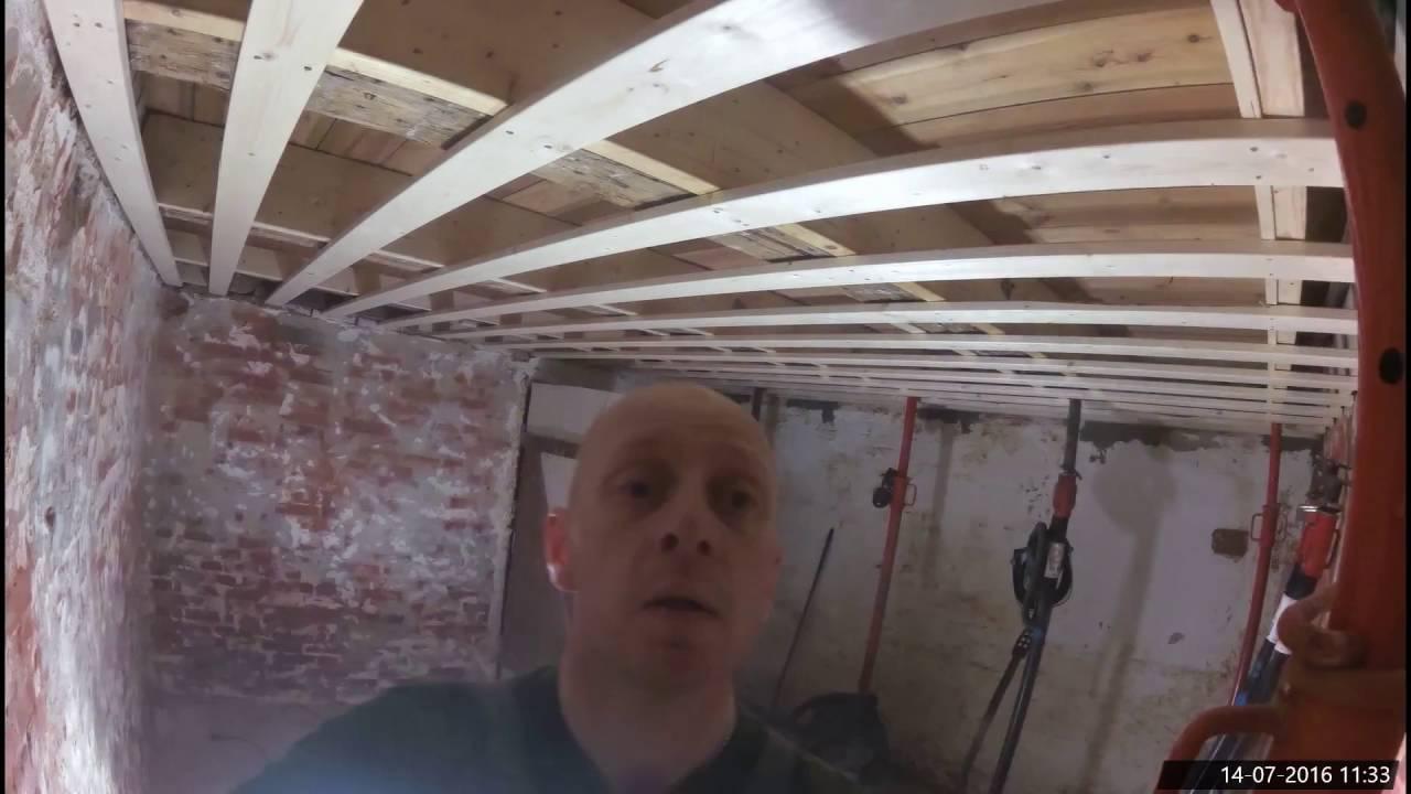 Ungdommelige Kælder renovering 2016 03 - YouTube VU79