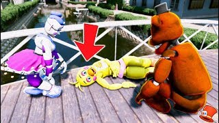 WHO KILLED TOY CHICA?? (GTA 5 Mods For Kids FNAF RedHatter)