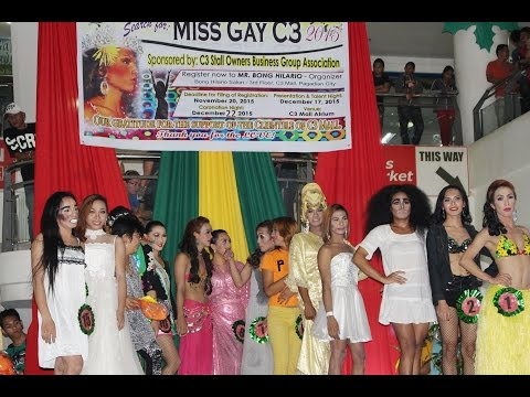 MISS GAY C3 MALL 2015 - Pagadian City Dec. 17, 2015