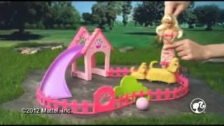 Barbie Tapsolós kutyus játszótér szett