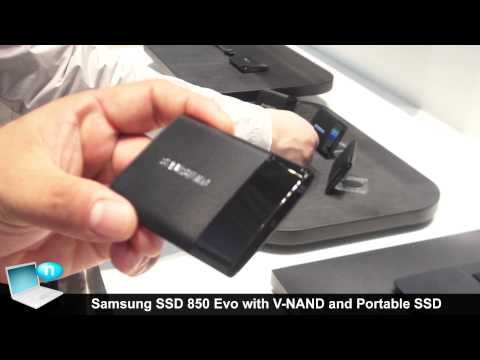 Samsung SSD 850 Evo with V NAND and Portable SSD