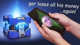 Gor Loses All of His Money Part 2 - Overwatch Uprising Loot Boxes