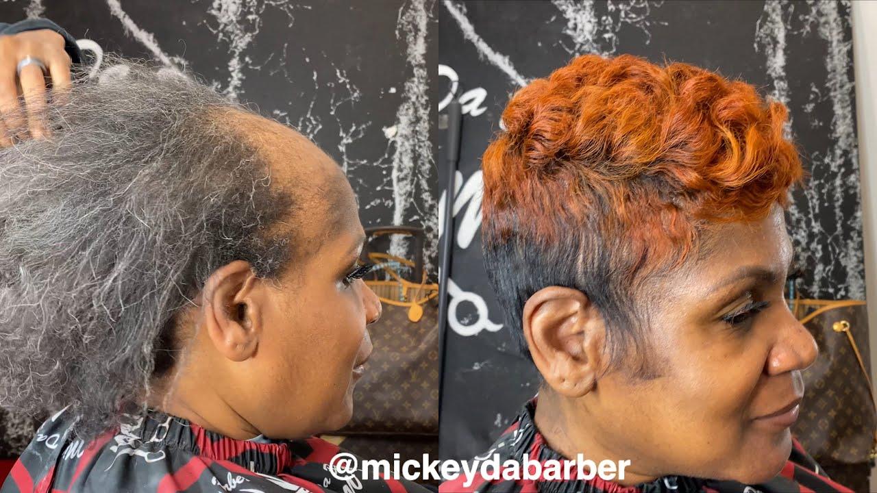 Women's Hair unit transformation ❤️