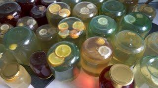 Березовый сок. Домашние заготовки. С цитрусовыми, с мятой и каркаде