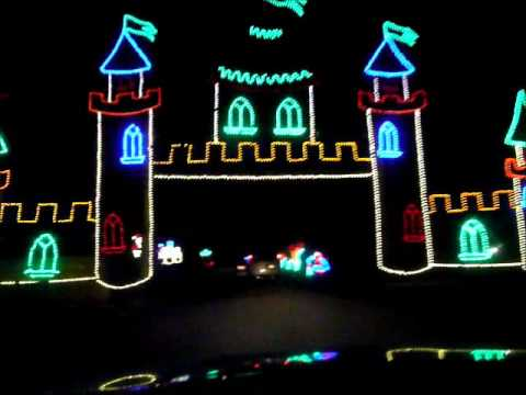 Shady Brook Farm Holiday Light Show 2012 - YouTube