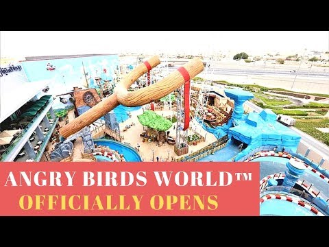 World's First Angry Birds World™ Officially Opens at Doha Festival City